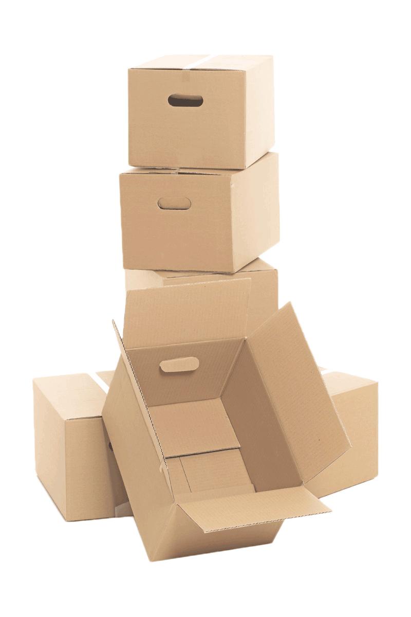 Cartons dans garde-meuble à Annemasse