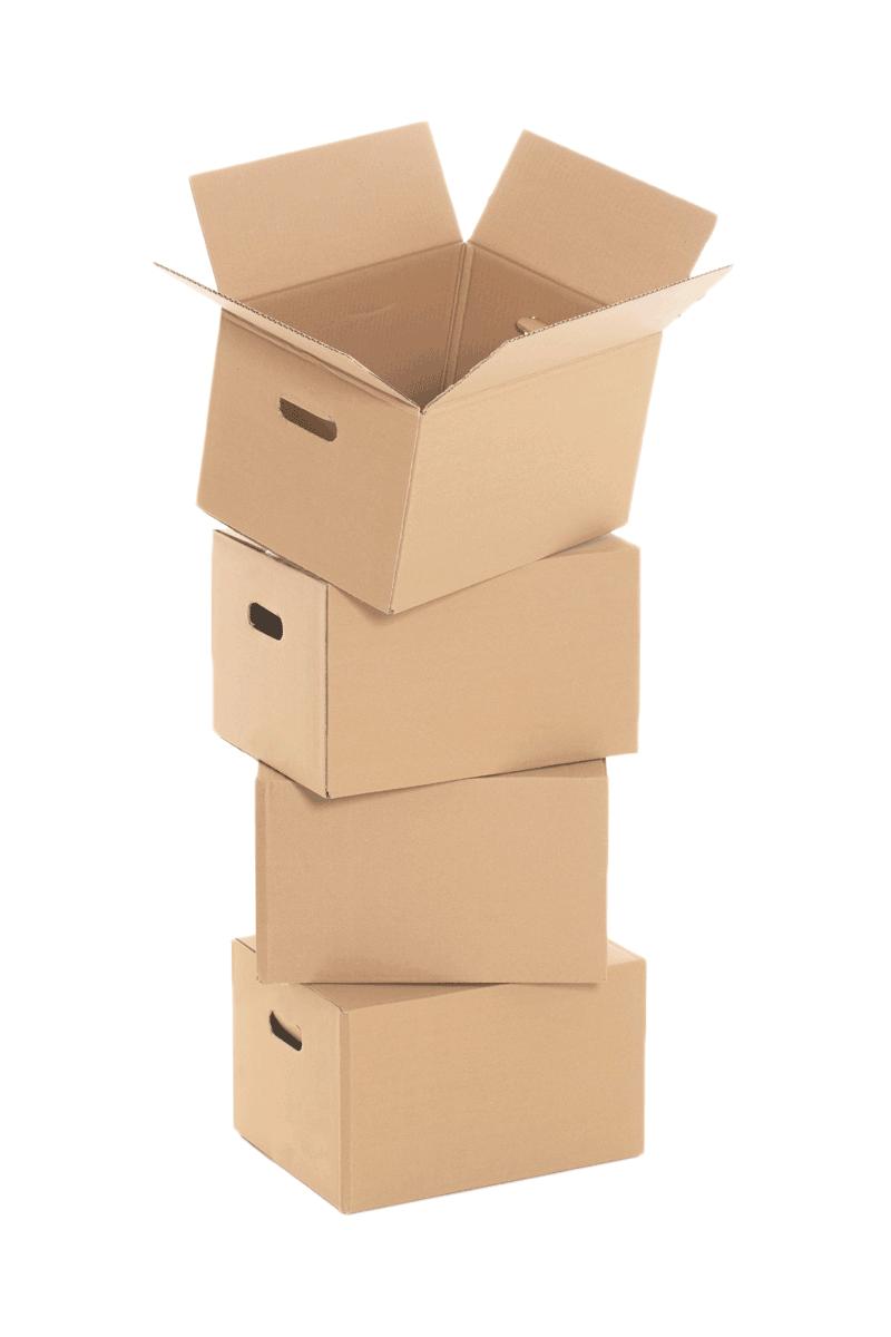 Cartons dans garde-meubles à Evian