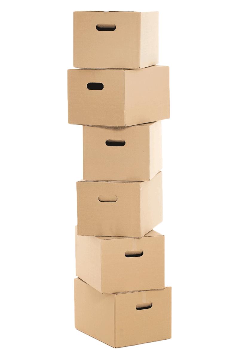 Cartons dans garde-meubles à Thonon