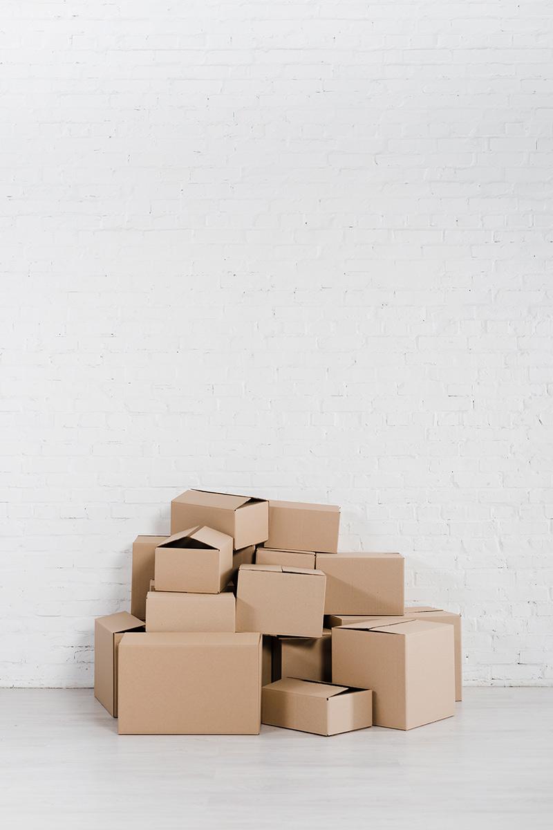 Cartons de déménagement Evian