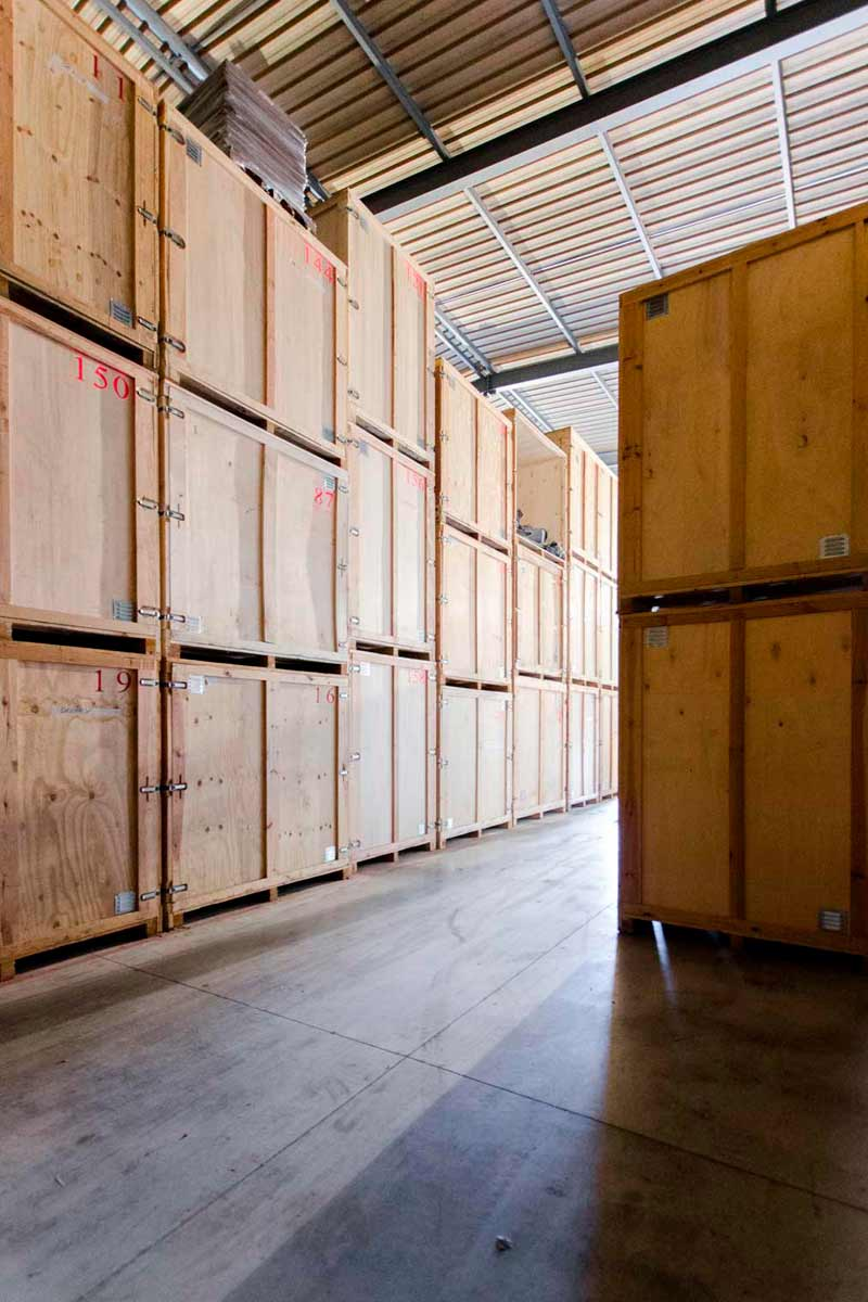 Stackage de meubles à Annemasse
